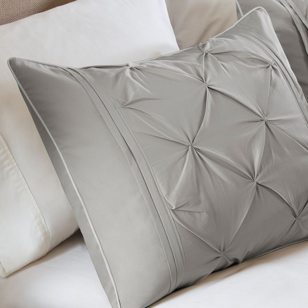 Madison Park Ella 4-pc. Percale Duvet Cover Set
