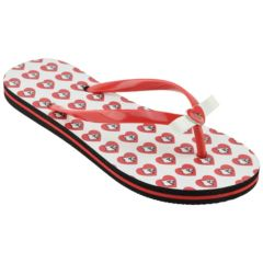 Women's Louisville Cardinals ... Floral Flip Flop Sandals