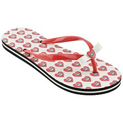 Women's Georgia Bulldogs Flip Flops