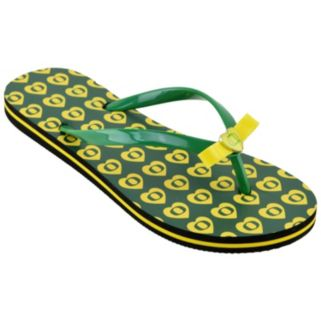 Oregon Ducks Women's Flip Flops
