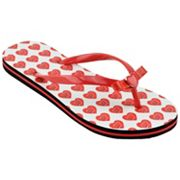 Women's Wisconsin Badgers Flip Flops
