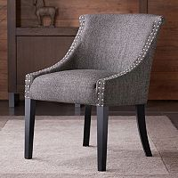 Madison Park Caitlyn Rounded Roll Back Chair