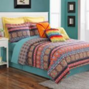 Fiesta Carman Reversible Quilt Set