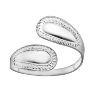 Sterling Silver Bypass Ring