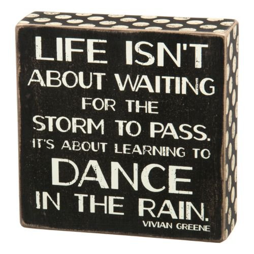 ''Dance In Rain'' Wooden Box S...