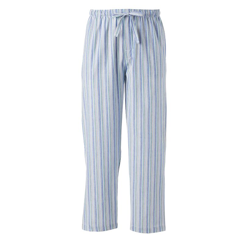 IZOD Striped Woven Broadcloth Lounge Pants - Men