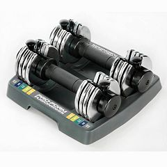 ProForm Space Saver 12.5-lb. Select-A-Weight Dumbbell Set
