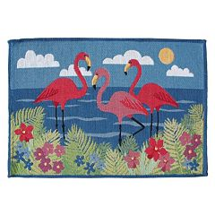 Park B. Smith Flamingo Tapestry 4-pc. Placemat Set