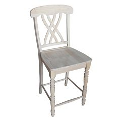 International Concepts Lattice Counter Stool