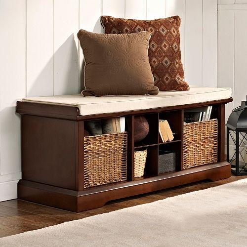 Kohl S Foyer Table : Crosley furniture brennan entryway storage bench