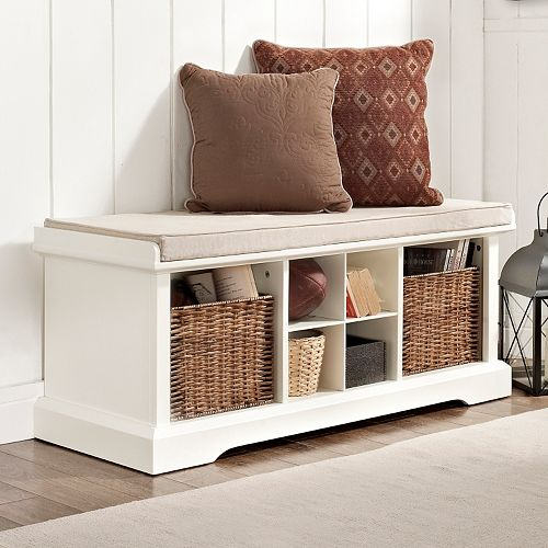 Wondrous Crosley Furniture Brennan Entryway Storage Bench Cjindustries Chair Design For Home Cjindustriesco