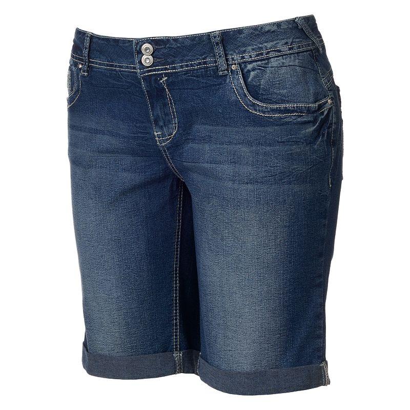 Amethyst Bermuda Shorts - Juniors' Plus