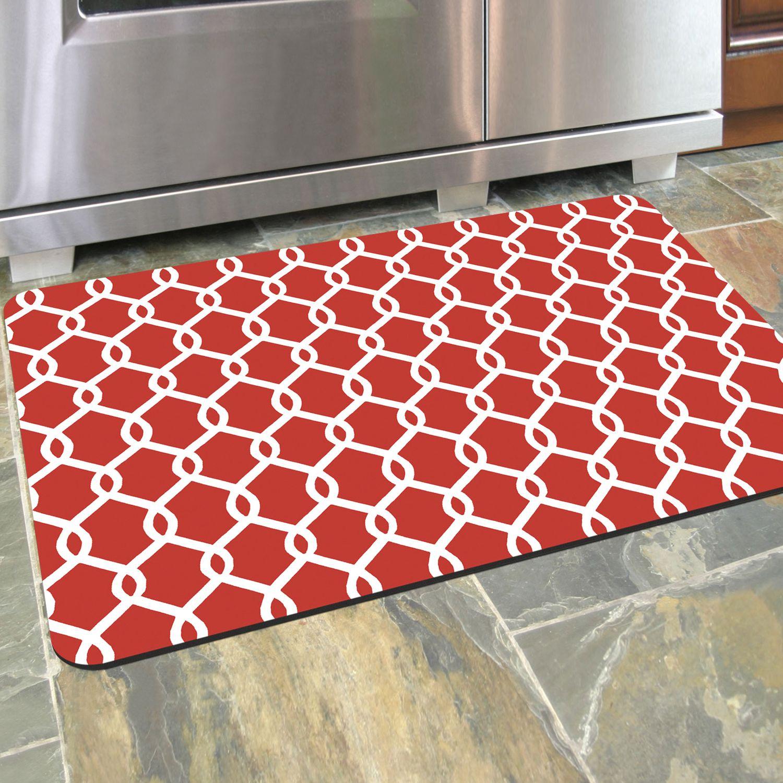 Charmant Bungalow Flooring Chain Link Premium Comfort Mat