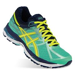 asics yellow peacock shoes