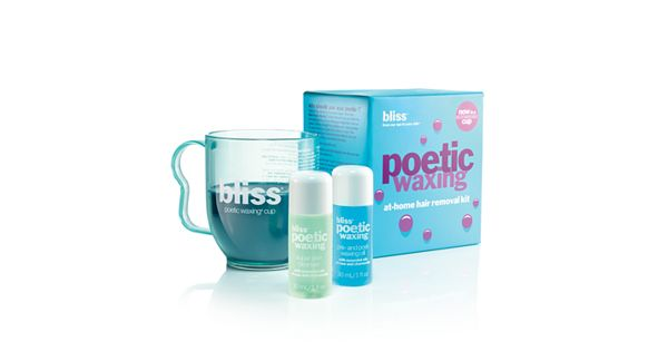 Bliss Poetic Waxing At-Home Hair Removal Kit