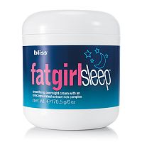 bliss fatgirlsleep Soothing Overnight Cream