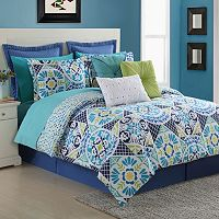Fiesta Tile Reversible Duvet Cover Set