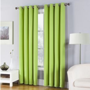 Fiesta 1-Panel Solid Twill Window Curtain