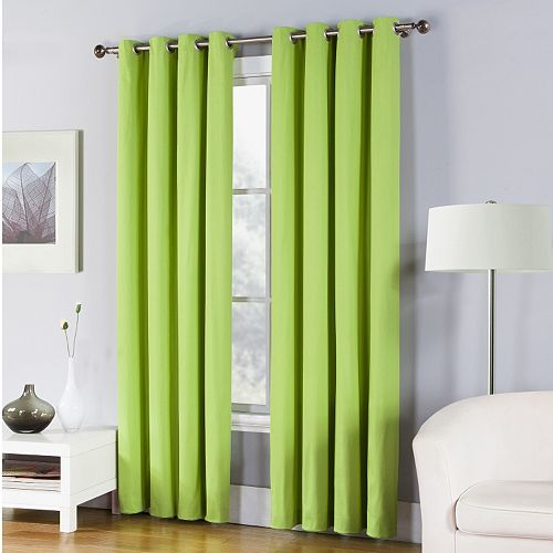 Fiesta Solid Twill Window Curtain