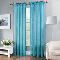 Fiesta Solid Sheer Window Curtain