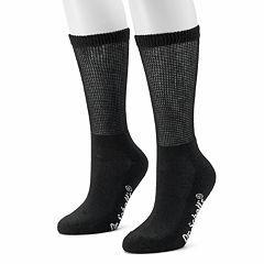 Dr. Scholl's 2-pk. Non-Binding Crew Socks - Women