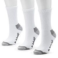 Dr. Scholl's 3-pk. Active Comfort Crew Socks - Women