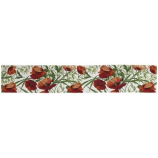 Park B. Smith Poppies 13'' x 72'' Table Runner