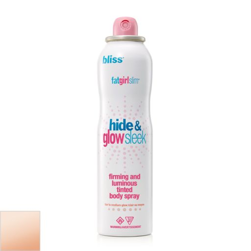 bliss fatgirlslim Hide and Glow Sleek Firming and Luminous Tinted Body Spray