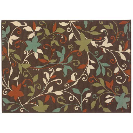 StyleHaven Montgomery Floral Indoor Outdoor Rug
