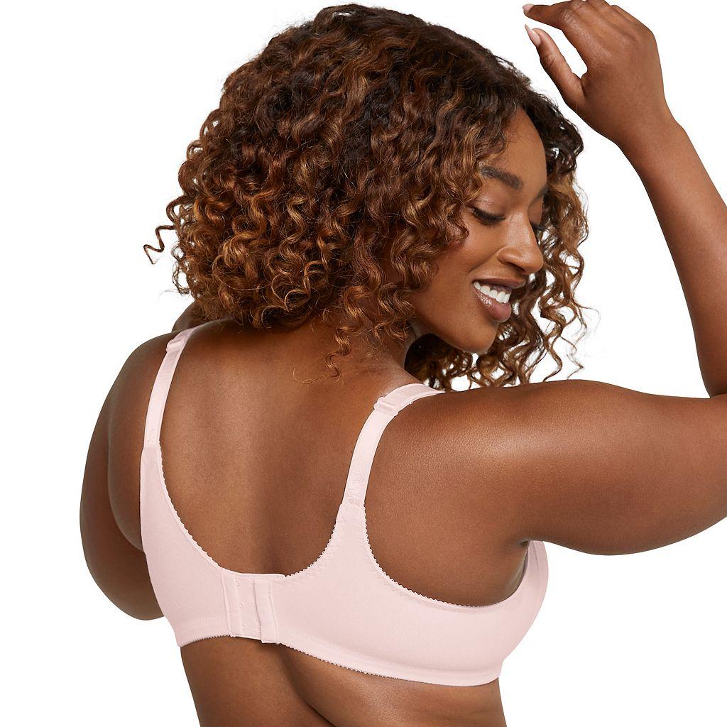 Bali Bra: Double Support Comfort-U Back Full-Figure Bra 3036