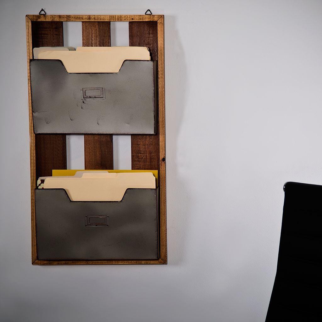 Home Essentials 2-Pocket Wall Decor