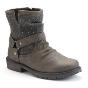 Mudd® Girls' Slouch Ankle Boots