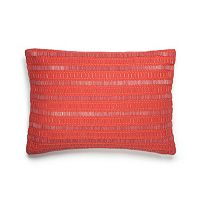 Amy Sia Painterly Beaded Throw Pillow