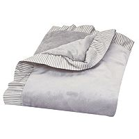 Trend Lab Ruffle Stripe Receiving Blanket