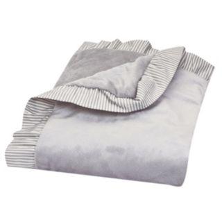 Trend Lab Ruffle Stripe Receiving Blanket
