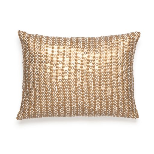 Amy Sia Midnight Storm Sequin Throw Pillow
