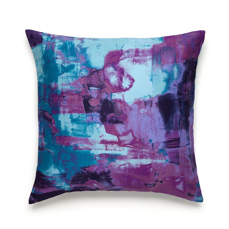 Kohls Purple Throw Pillows : Imported Watercolor Bedding Kohl s