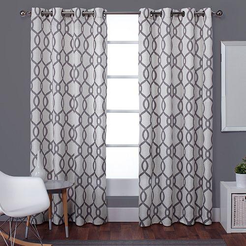 Exclusive Home Kochi Window Curtain Pair - 54'' x 84''