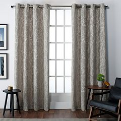 Exclusive Home 2-pack Finesse Grommet Top Window Curtains