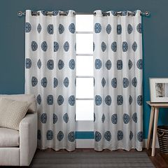 Exclusive Home Sedgewick Window Curtain Pair - 54'' x 84''