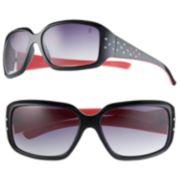 Jennifer Lopez Teachers Pet Rhinestone Rectangular Sunglasses - Women