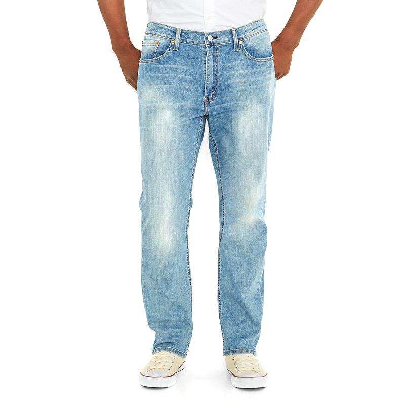 Big & Tall Levi's 541? Athletic Taper Stretch Jeans, Men's, Size: 46X34, Blue