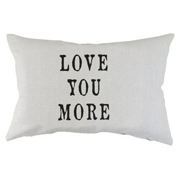 Park B. Smith ''Love You More'' Throw Pillow