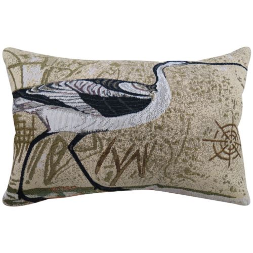 Park B. Smith Beach Bird Throw Pillow