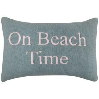 Park B. Smith ''On Beach Time'' Oblong Throw Pillow