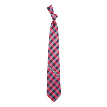 Florida Panthers Check Woven Tie