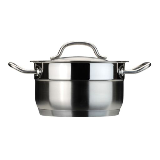 BergHOFF Hotel 2-qt. Stainless Steel Dutch Oven