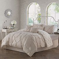 Avondale Ella Pinch Pleat 5-pc. Reversible Duvet Cover Set
