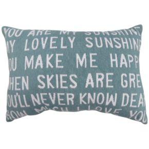 Park B. Smith ''You Are My Sunshine'' 12'' x 18'' Throw Pillow