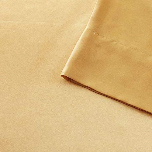 Madison Park Essentials Satin Luxurious 6-Piece Sheet Set or Pillowcases